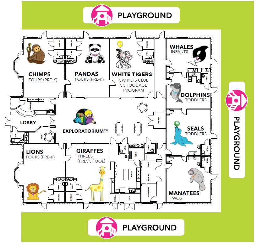 preschool map
